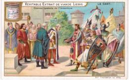 THMS  Chromos Liébig  Série DE 6 Le Gant - Liebig