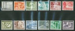Suisse /Schweiz/Svizzera/Switzerland/ 1949 / Technique Et Paysages Série Complète Neuve **/ No.297-308 - Suisse