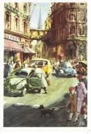 Un Voiture Toujours En Vogue  -  Volkswagen  Advertising Postcard - Artwork By Victor Mundorff - CP - Voitures De Tourisme