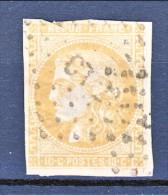 Francia, Em. Bordeaux 1870, Y&T N. 43A C. 10 Bistro Annullo CT2° - 1870 Bordeaux Printing
