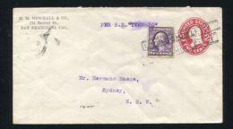 UNITED STATES STATIONERY AUSTRALIA MARITIME MELBOURNE - Postal History