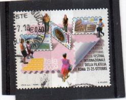2009 (3074) Festival Internazionale Della Filatelia - Leggi Il Messaggio Del Venditore - 2001-10: Afgestempeld