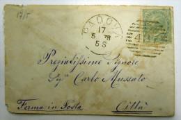 LOMBARDO VENETO TRIESTE PADOVA 9 KREUZER  1857 - Lombardo-Veneto