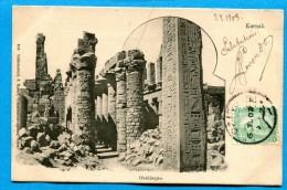 OV1.1082, Karnak, Obélisque, Précurseur Circulée 1903 - Egypt