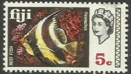 FIJI - 1969 Butterfly Fish 5c MNH **  SG 395  Sc 264 - Fiji (...-1970)