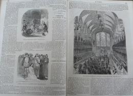 VOLEUR ILLUSTRE1861 N°234:FUNERAILLES DUCHESSE DE KENT/ NODIER LETTRE /CONCIERGERIE TORTURE RAVAILLAC/MARECHALE D'ACRE - Journaux - Quotidiens