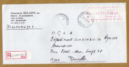 Enveloppe Cover Brief Aangetekend Registered Recommandé Rochefort 1 - Belgique