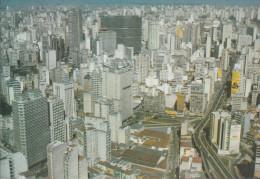 Brasilien - São Paulo - Air View - Nice Stamp - São Paulo