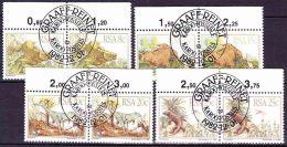 South Africa RSA - 1982 - Prehistoric Animals - Karoo Fossils, Dinosaurs - Complete Set - Afrique Du Sud (1961-...)