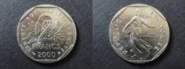 2000 - 2 FRANCS SEMEUSE - FRANCE