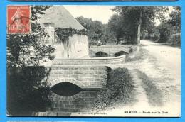 OV1.1086, Ponts Sur La Dive, Animée Circulée 1913 - Mamers