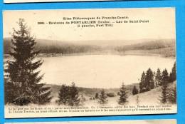 OV1.1089, Franche-Comté, Lac Saint Point, Port Titi, No998 Circulée 1924 - Pontarlier