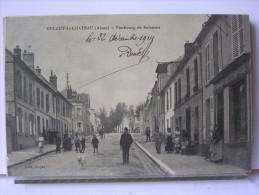 02 - OULCHY LE CHATEAU - FAUBOURG DE SOISSONS - ANIMEE - 1914 - Altri Comuni