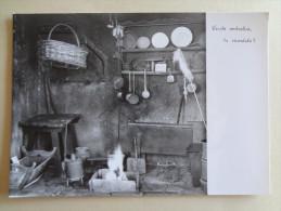 719 - Cartolina Bottega Dei Vecchi Ombrellai Gignese Nv Ediz.Museo Dell'Ombrello Postcard Carte Postale - Musei