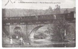 4 Mazée-Najauge  Pont Du Chemin De Fer Sur Viroin - Viroinval