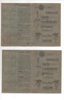 ST GENIS  - CARTE CONFEDERALE C.G.T AVEC VIGNETTES . L'AGRICULTURE  ( 2 ) - Documents Historiques