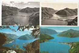 MELIDE TI Ponte Di Melide Lago Di Lugano 4 Karten - TI Tessin