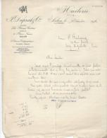 Lettre D'accompagnement De Facture/Huilerie/F. DUPRAT & Cie/SALON De Provence/1932      FACT64 - Food