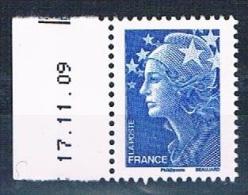 FRANCE - Marianne De Beaujard - Année 2011 - Réf. 4567 - Gommé - Europe 20g - Daté 17.11.09 - Neuf** - 2008-13 Marianne De Beaujard