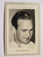 Dick Button, Né à Englewood   Patineur Américain  - 4ème Collection 1952 Felix Potin Album - Sports