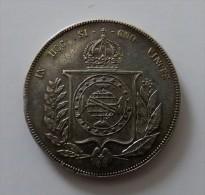 1000 REIS 1866 ARGENT SILVER POIDS 12.6  GR  QUALITE - Ungheria