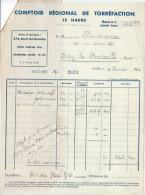 Facture/Café/Comptoir Régional De Torréfaction/LE HAVRE//1943      FACT67 - Food