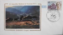 ENVELOPPE 1er JOUR 1983 - 15e Assemblée Générale De Vacances PTT - Bussang Le 03.05.1983 - Parfait état - - FDC