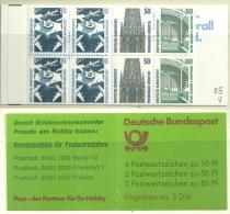 Bund - MH 25av OZ,  Postfrisch - Booklets