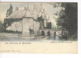 CP Château De Steenokkerzeel Steen-Ockerzeel Colorisé Vers 1904 Nels - Steenokkerzeel