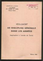 TTA 101 avec Tampon du 150e R�giment Infanterie Bureau Mobilisation -Edit. 1980 Lavauzelle - 150e RI Verdun - discipline