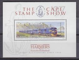 "South Africa 1997 ""The Blue Train"" The Cape Stamp Show M/s ** Mnh (20686) - Blokken & Velletjes"