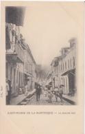 Saint Pierre De La Martinique    La Grande Rue Franse Eilandgroep    Nr 1759 - Postkaarten