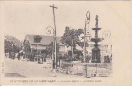 Saint Pierre De La Martinique    La Place Bertin  Franse Eilandgroep    Nr 1760 - Cartes Postales