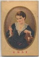 Calendrier-Publicité. Soie à Coudre Gutermann. 1937. - Calendriers