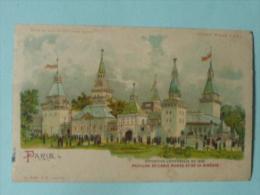 PARIS - Exposition Universelle De 1900 _ Pavillon De L'ASIE RUSSE Et De La SIBERIE - Ausstellungen