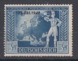 DR Minr.823 Plf. II Mit Falz - Deutschland