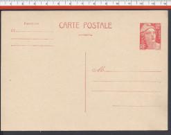 FR - 1945-54 -  CARTE POSTALE 12 F MARIANNE DE GANDON NEUVE - - Standard Postcards & Stamped On Demand (before 1995)