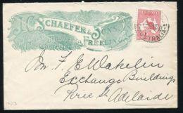 SOUTH AUSTRALIA 1913 FREELING TIMBER MERCHANTS ADVERTISING PIGORIAZ - Postmark Collection