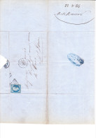 Verrerie De La Gare - Mesmer Et Cie La Guillotière (Rhone) - 24-08-1862 - Manuscripts