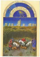 CPA - Peinture & Tableaux Art -Musée CONDE - CHANTILLY - Les Très Riches Heures Du Duc De Berry - La Curée - Peintures & Tableaux