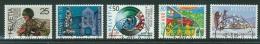 Suisse /Schweiz/Svizzera/Switzerland/ 1989 /  Timbres De Propagande / No. 770-774 - Used Stamps