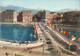 CPM 38 - Grenoble - La Pont De La Porte De France - Grenoble