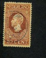 308224207 NEDERLAND GEBRUIKT USED OBLITERE YVERT NR 87  NVPH NR  95b Jubileumzegels - 1891-1948 (Wilhelmine)