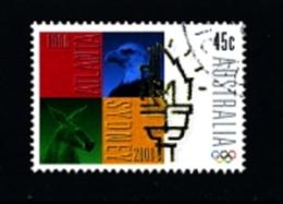 AUSTRALIA - 1996  PASSING OF OLYMPIC FLAG TO SYDNEY   FINE USED - 1990-99 Elizabeth II