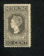 308225711 NEDERLAND Met Scharnier  Hinged YVERT NR 85  NVPH NR  93 Jubileumzegels - 1891-1948 (Wilhelmine)