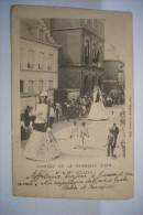 ATH - VUE PAS COURANTE !! - CORTEGE DE LA KERMESSE ( DUCASSE ) - MR ET MME GOLIATH ( 1903 ) - Ath