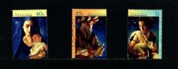 AUSTRALIA - 1996  CHRISTMAS  SET FINE USED - 1990-99 Elizabeth II