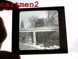 CHAMPIGNY-SUR-MARNE LE PONT 94 PLAQUE DE VERRE PHOTOGRAPHIE CLICHE UNIQUE - Glasplaten