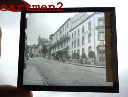 ROCHEFORT UNE RUE ANNEXE DE L'HOTEL BIRON PLAQUE DE VERRE PHOTOGRAPHIE CLICHE UNIQUE - Rochefort