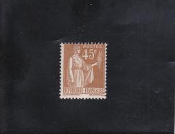 45C BISTRE  NEUF ** N° 282 YVERT ET TELLIER 1932-33 - 1932-39 Paix